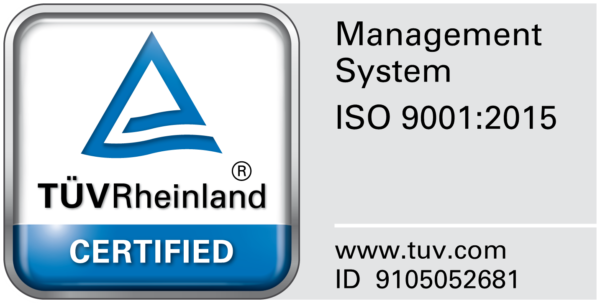 Certification ISO label image